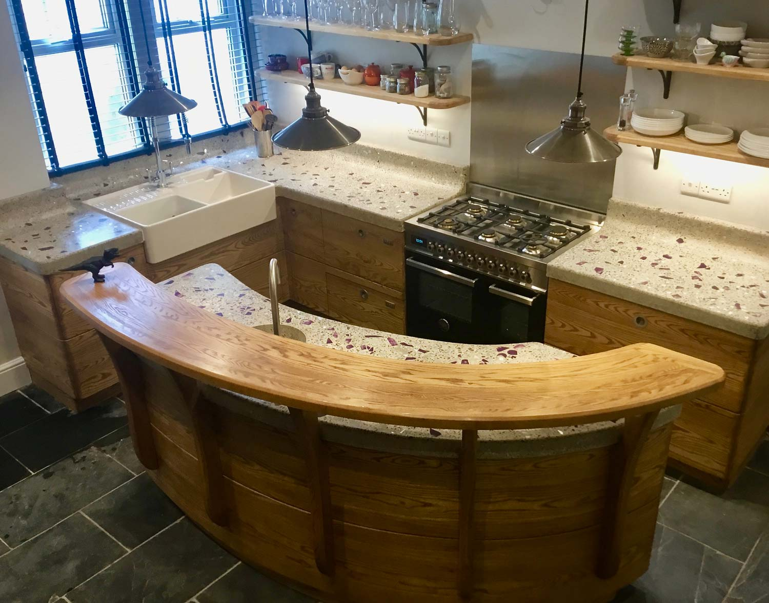 Handbuilt Wooden Kitchens