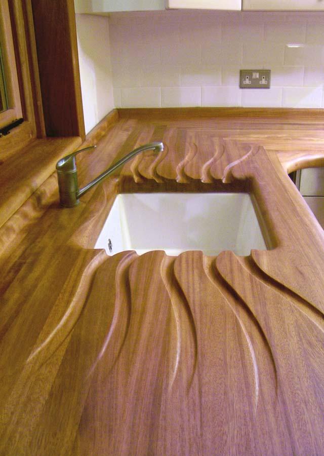 Handbuilt Wooden Kitchens