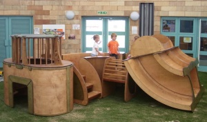 Bespoke children's play equipment