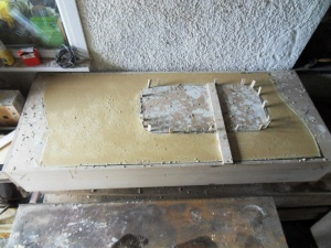 wooden casting boxes for concrete